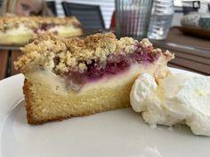 Cheesecake, Desserts, Food, Gluten Free Oatmeal, Rhubarb Recipes, Gluten Free Pie, Essen, Tailgate Desserts, Deserts
