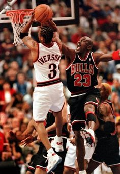 Jordan capping Iverson