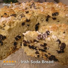"Irish Soda Bread  | ""I made this and it was the biggest hit ever! This recipe will be apart of my St. Paddy's repertoire from now on! Big thumbs up!"""