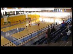 Partido de futbol sala cadete entre E.F. Sala Arganda y Oroquieta Espinillo