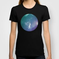 Fragments T-shirt $22.00 on Society6 #rainbow #clouds #print #society6