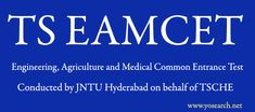 Looking for TS EAMCET 2018 Notification? Visit Yosearch for TS EAMCET 2018 Exam Dates, Telangana UG, MBBS, BTech and other courses, Application Form, Important Dates and more. TS EAMCET 2018 has been released by Telangana State Council of Higher Education (TSCHE) on behalf of JNTU Hyderabad. TS EAMCET 2018 Exam Date.