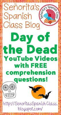 Day of the Dead videos and freebie.