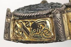Gotland, box brooch Viking Metal, Viking Art, Viking Jewelry, Ancient Jewelry, Viking Knotwork, Norse People, Baltic Region, Viking Culture, Early Middle Ages