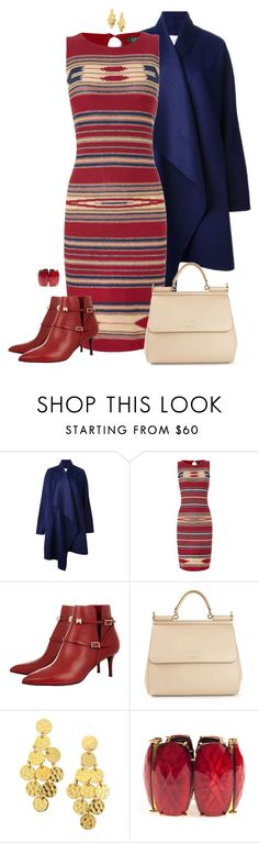"""""""Winter Evening Out!"""" by rleveryday ❤ liked on Polyvore featuring Vionnet, Lauren Ralph Lauren, Dolce&Gabbana, Stephanie Kantis, Amrita Singh, EveningOutfit and RLEveryday"""