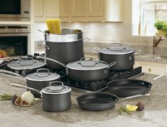 64-13 - Contour™ Hard Anodized Cookware - Contour™ Hard Anodized - Cookware - Products - Cuisinart.com