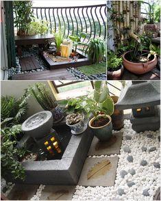Amazing Interior Design 10 Big Ideas to Decorate a Small Space Balcony