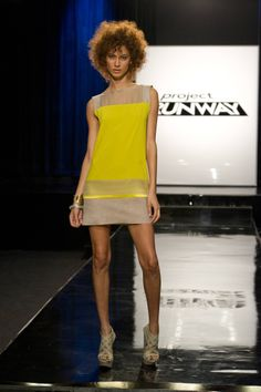 Michelle - Project Runway Season 11 - Lord & Taylor challenge