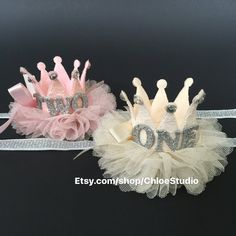 Crown Headband,(L),Party Headband,baby crown,Baby Headband,baby shower…