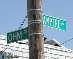 This intersection in New York. | The 24 Nerdiest Things That Have Ever Happened