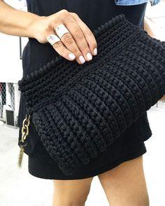 Crochet backpack pattern inspiration crochet bag from t shir yarn salvabrani – Artofit Crochet Bag + Diagram + Step By Step Tutorials Bobble Stitch Handbag Crochet Pattern with Video Tutorial DIY Tutorial - Crochet Easy Casual Friday Handbag with Lining Crochet Backpack Pattern, Bag Crochet, Crochet Shell Stitch, Crochet Clutch, Crochet Jacket, Crochet Handbags, Crochet Purses, Love Crochet, Irish Crochet