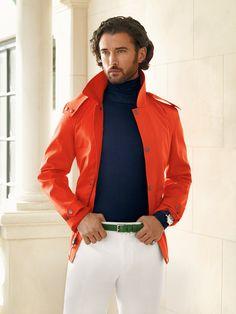 Distinctive color for today's gentleman from Ralph Lauren Purple Label