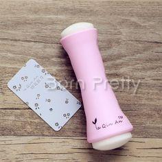 $4.99 Cute Pink Fat Stamping Nail Art Stamper with Scraper - BornPrettyStore.com.  Use my 10% off code PQL91.