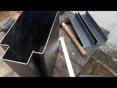 Metal Projects, Welding Projects, Diy Projects, Interlocking Concrete Blocks, Metal Bending Tools, Concrete Fence, Bungalow House Design, Fence Design, Modern