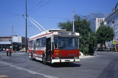 Grenoble | Trolleybus | Gare | 1970's