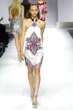 Emilio Pucci Spring 2007 Ready-to-Wear Fashion Show - Romina Lanaro