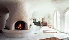 Inside a Peter Vetsch Earth House
