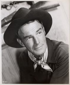 CARSON CITY (1952) - Randolph Scott - Directed by Andre de Toth - Warner Bros. - Publicity Still.