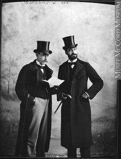 1895 Men's Fashions | Montreal 1895, mccord museum | 19thc Men's Fashion