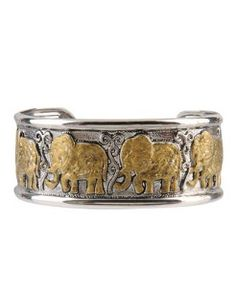 Elephant March Cuff Bracelet..i used to have a ring like this...i love it!!!