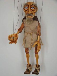 Bettler ,  marionette puppe