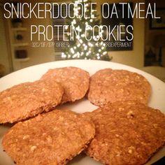 Any low-cal oatmeal packet (I used OatFit) or 25g oats - 34g vanilla whey (I used MTS brand) - 14g coconut flour - 1/2 tsp baking powder - 1 egg - 1 tsp cinnamon - 60g cashew or almond milk - stevia to taste