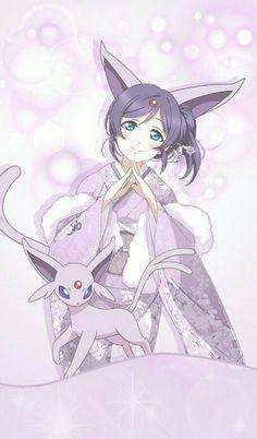 - Nozomi and Espeon Cosplay Pokemon, Pokemon People, All Pokemon, Equipe Pokemon, Pokemon Human Form, Pokemon Eevee Evolutions, Pelo Anime, Cute Pokemon Wallpaper, Pokemon Pictures