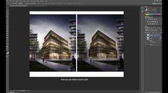 Photoshop - Post- Render : Raining Night View Effect