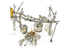 Wilderness, Sketching, Highlights, Camping, Fantasy, Blog, Ideas, Campsite, Luminizer