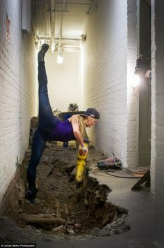 Dancers Among Us by Jordan Matter ..bravo madam...and he....he look .ha ?