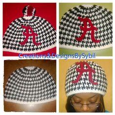 Crochet Team Hats by crochetbysybil on Etsy, $20.00