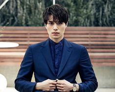 Gosh, your stare is quite chilling...but you're so hot, Lee Dong Wook.