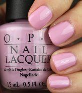 OPI Nail Polish in Panda-monium Pink - one of my new favorite colors!