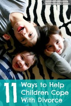 11 Ways to Help Children Cope with Divorce ~ Lovingly and intentionally co-parenting can make a world of difference as you guide and protect their little hearts during this difficult time. how divorce affects kids, divorce and kids