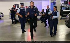 """A New Zealand police video of cops performing the latest """"running man"""" Internet craze has gone viral, attracting millions of hits and prompting a response in kind from the New York Police Department."""