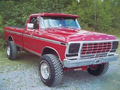 Classic Ford Trucks, Old Ford Trucks, Old Pickup Trucks, Ford 4x4, 4x4 Trucks, Cool Trucks, Doge Challenger, Old Fords, Gto