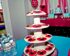 Elmo Turquoise & Red Birthday Party Ideas | Photo 1 of 15 | Catch My Party