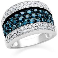 4spr34bd-07 Best Deal Belk & Co. Sterling Silver Morganite and Diamond Ring