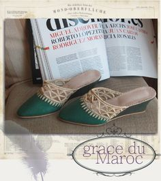 Morocco roomshoes  babouche du MAROC SOLEIL バブーシュ 靴 モロッコ ソレイユ
