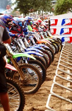 Motorcross+Racers+Starting+Line+8x12+Photo+Art+by+itspicturesque,+$20.00