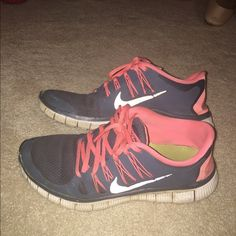 Nike free 5.0 Please look at the pictures to see the wear!!! Nike Shoes Sneakers