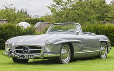 Jay Kay on his Mercedes-Benz 300SL Roadster: 'It's a disc-braked car, with an aluminium-alloy block, bonnet, boot and doors, so it's a rare beast. It's great to drive, you'd never believe it was almost 60 years old. When it came out, it must have been a revelation. It's such a thing of beauty and I can remember seeing one as a kid. We reckon it's one of the last ever built. It came from Portugal, with just 30,000km – it's a bit special'