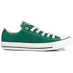Converse All Star Ct Ox ($125) ❤ liked on Polyvore featuring shoes, sneakers, converse, sapatos, tennis, alpine green, everyday shoes, womens-fashion, converse trainers and converse footwear
