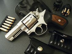 Ruger 357 - Now we are talking a Quality Wheel gun with a 3 inch barrel - Not much better than this in my opinion