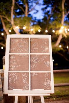 35 Non-traditional And Creative Wedding Guest Book Ideas - 17 - Pelfind