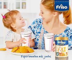 ¿Ya ves mamá ? ¡Con un vaso de leche nuestro día a día empieza con una sonrisa!