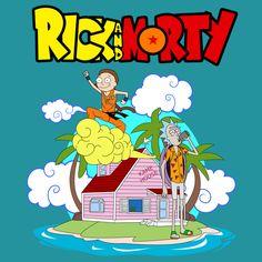 Rick and Morty visit Dragon Ball reality!!