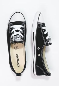 Converse CHUCK TAYLOR ALL STAR BALLET LACE - Sneakers basse - noir / blanc - Zalando.it
