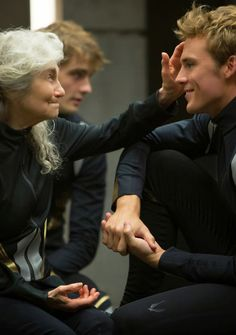 I wanted to find the perfect pin to put on here and I think this one is pretty good; thank you so much for inviting me to this board, it means a lot. -Mags and Finnick