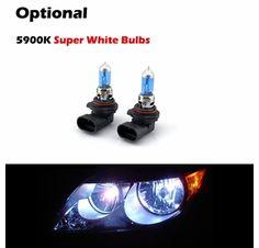 94-01 Dodge Ram SINISTER BLACK Angel Eye Corner Projector Headlights Headlamps